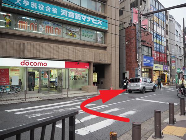 船橋駅からの道順2
